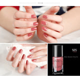 24 Colors Nail Lacquer Art Decoration Waterproof 8ml