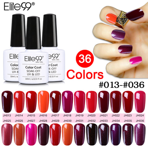 Elite99 10ml Soak Off UV Gel polish