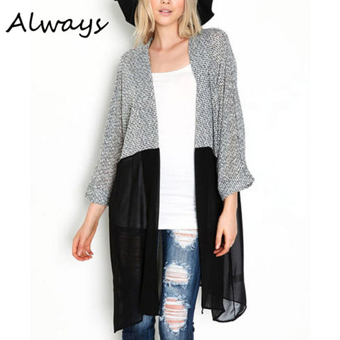 Long Cardigan Knitted Cardigans Sweaters