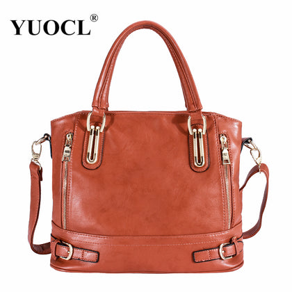 Fashion Designer  Retro Vintage Pu Leather Handbags