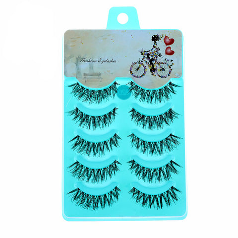 5 Pairs Women Lady New Natural Soft Eye Lashes