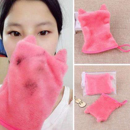 Reusable Facial Cloth Face Towel Makeup Remover