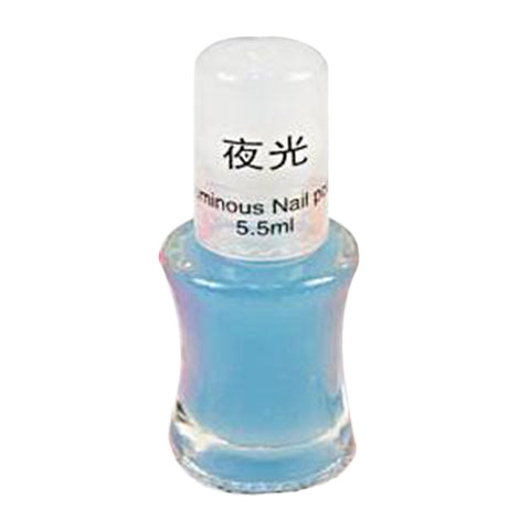1 Bottle 5.5 ML Fashion Color Luminous Nail Polish Fluorescent Luminous Nail Polish