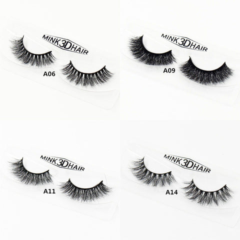 3D Mink Lashes Thick HandMade Full Strip