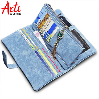 ARTISOME Leather Wallet Female Case For iPhone 5S 5 SE 6 6S 7 Phones