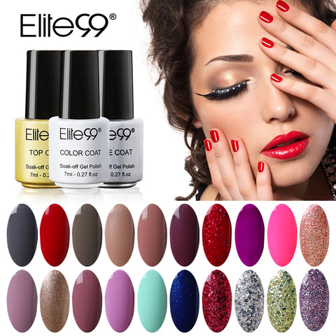 Elite99 7ml Gel Nail Polish Nail Art UV Gel Colorful Gel Lacquer Varnish