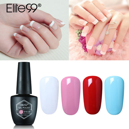 Elite99 10ml UV Gel Nail Polish LED UV Gel Polish 59 Colors