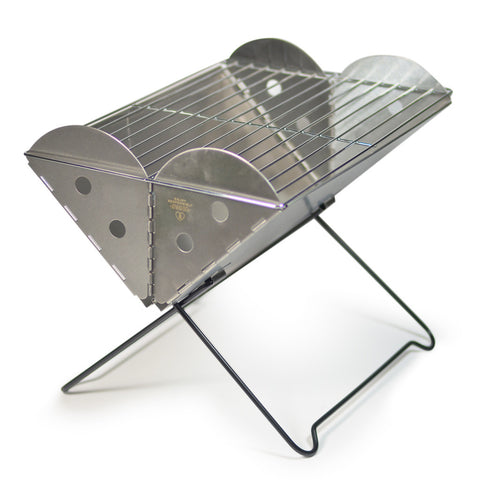 Flatpack Portable Stainless Grill & FirePit