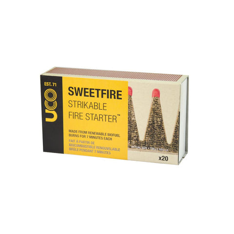 Sweetfire Strikeable Fire Starter (20 pk)