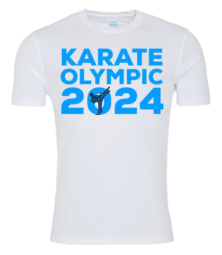 Karate Olympic 2024 T-Shirt (Blue)