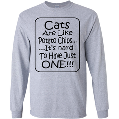 Cats Are Like Potato Chips...