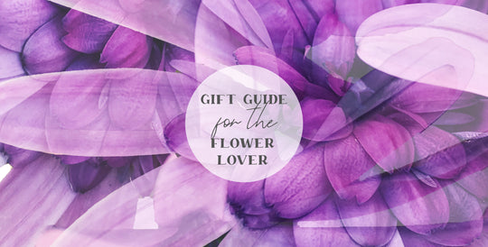 Gift Guide for the Flower Lover | Paper and Flower Art Prints