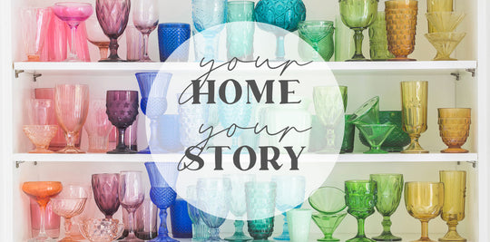 Your Home Your Story | Paper and Flower Blog | Floral Art Prints