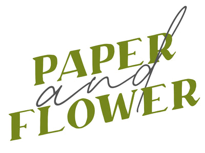 Paper and Flower