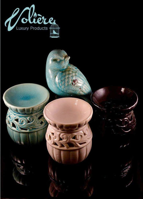 Carved Round Tealight warmers