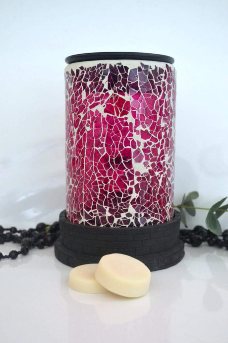 Candy Pink Mosaic Warmer