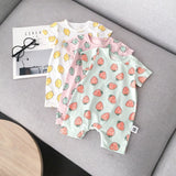 Baby Romper | Fruit All Over Print Summer Romper