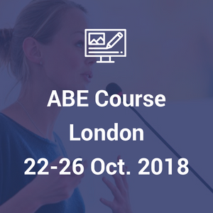 ABE course London, 22nd - 26th October 2018