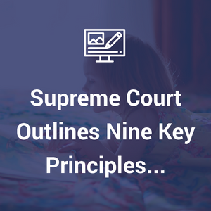 Supreme Court outlines nine key principles of section 20 practice