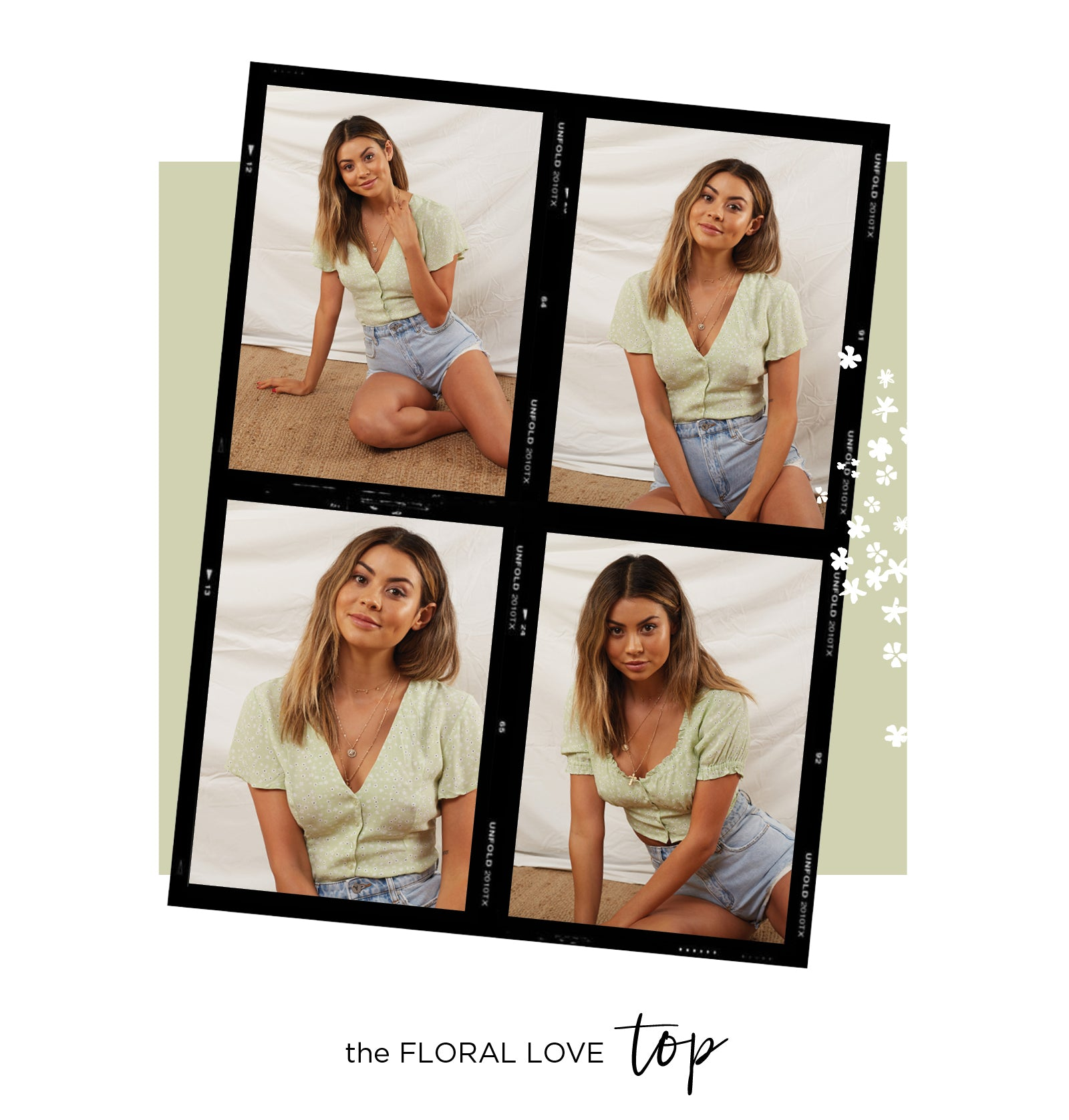 The Floral Love Top