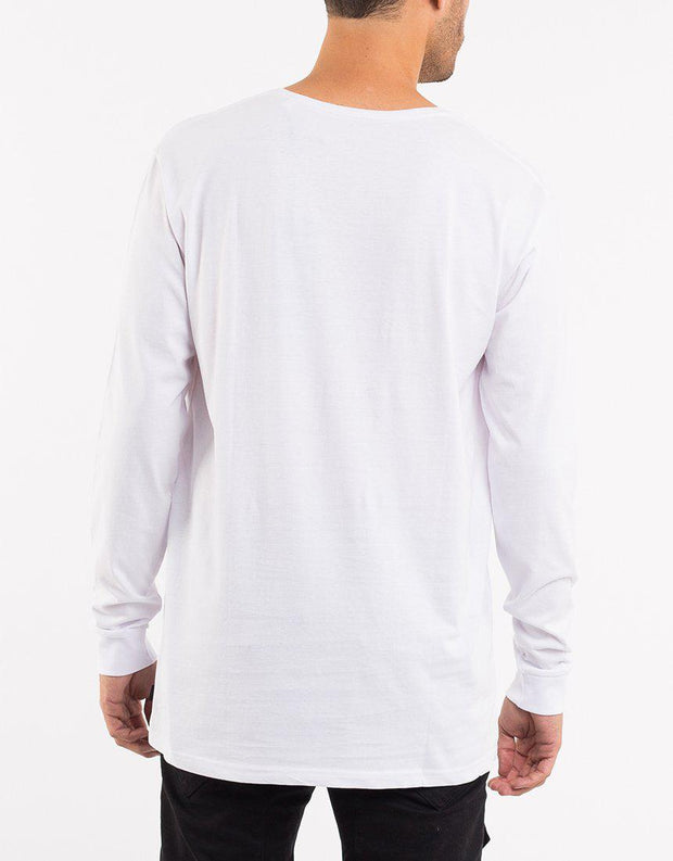 Over Crotch L/s Tee White