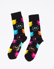 Cat Sock Multicoloured
