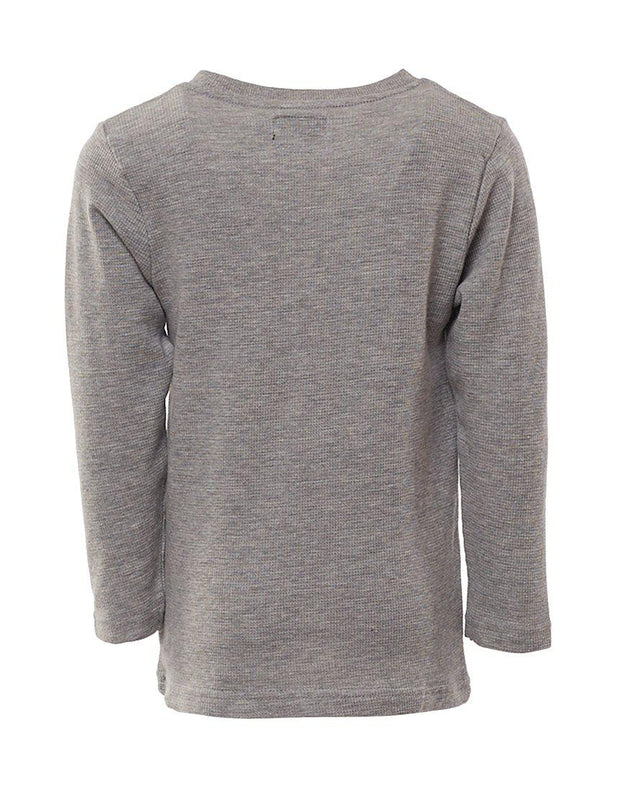 Command L/s Tee Grey Marle