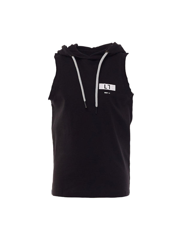 Official Hooded Muscle Black