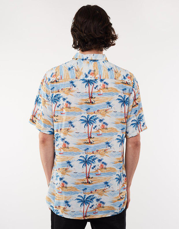 Holiday Ss Shirt - Hawaii Hawaii