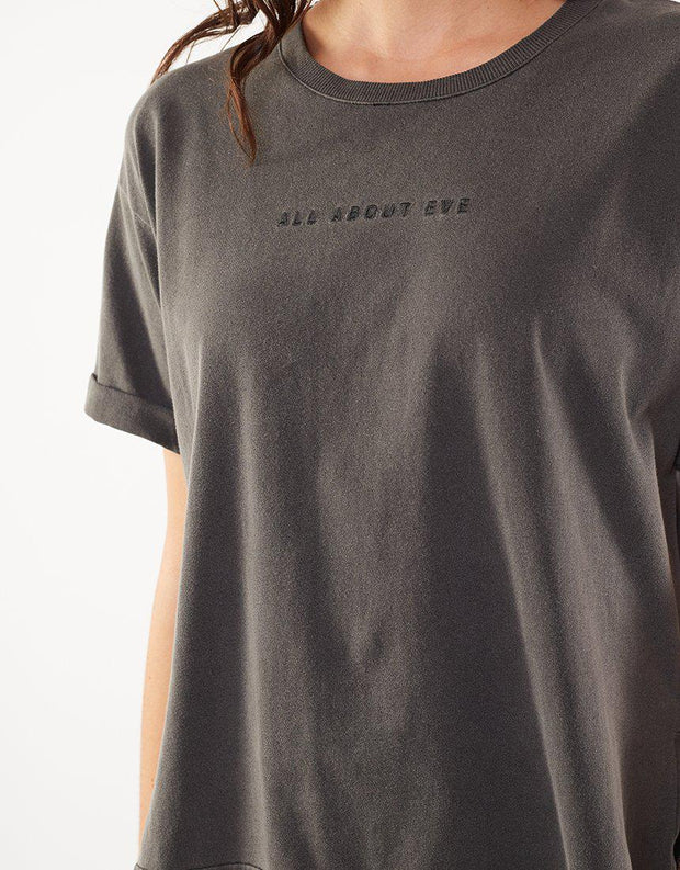All About Eve Washed Tee Faded Black