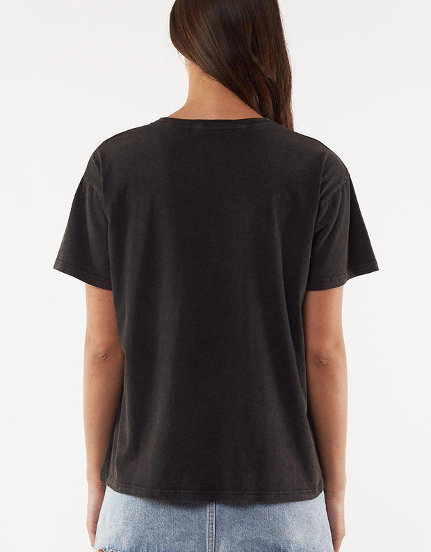 Heap Tee Washed Black