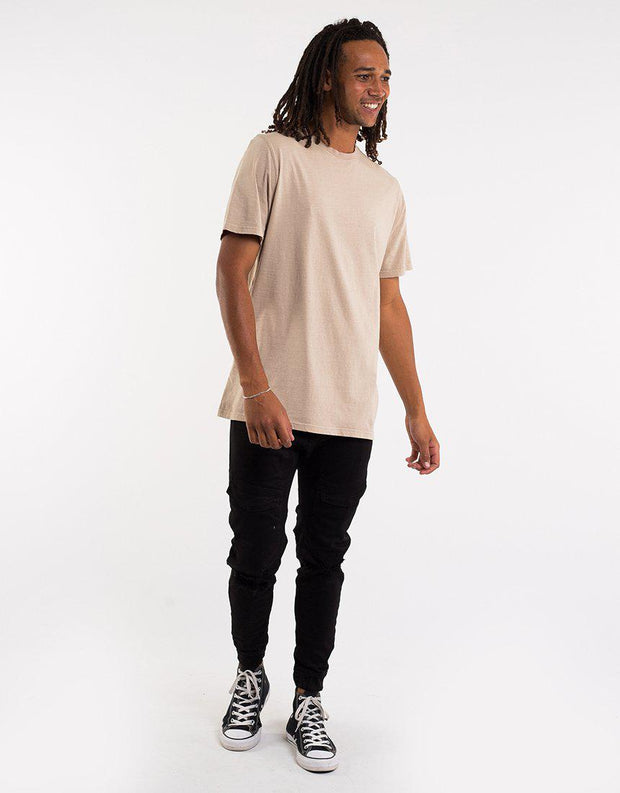 Relaxed Tee Tan