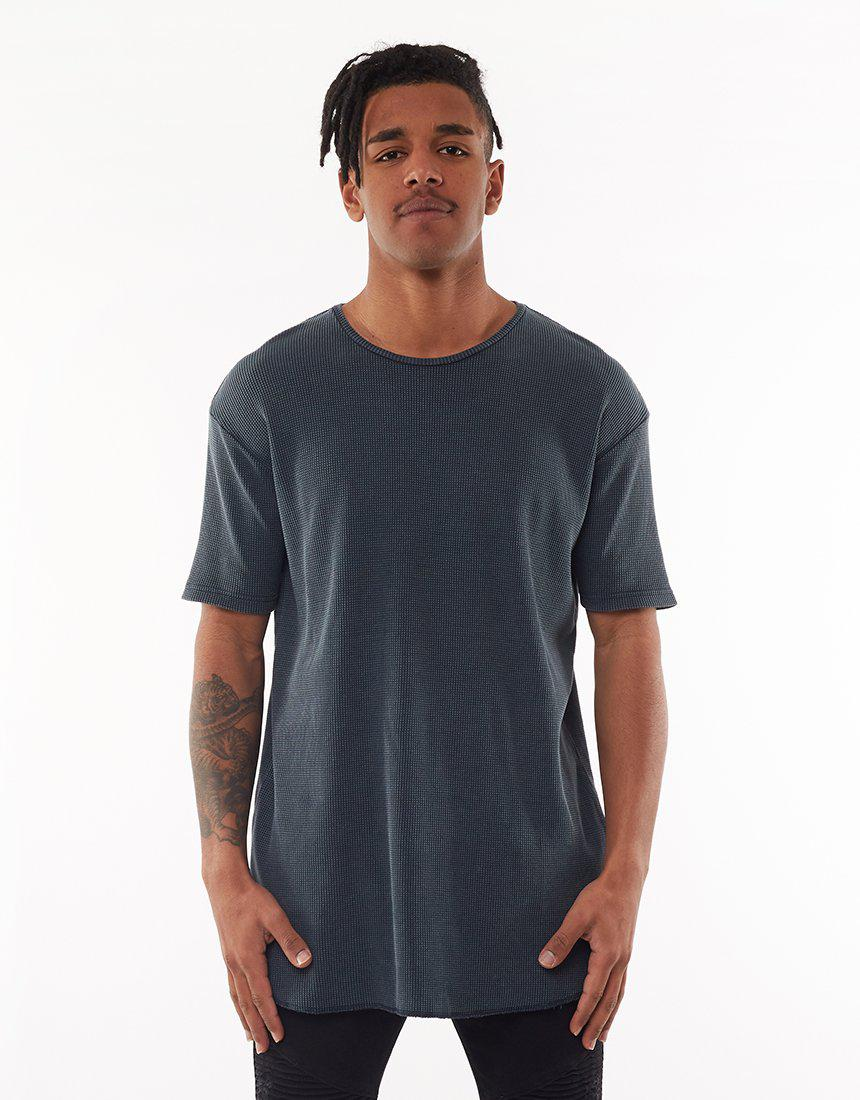 Kiss Chacey Pigment Navy Coast Scoop Back Muscle Tee