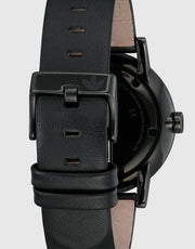 District Watch All Black/silver