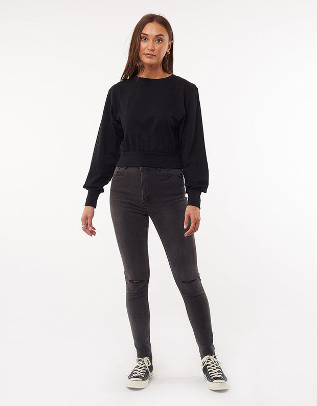 Everything Long Sleeve Top Black