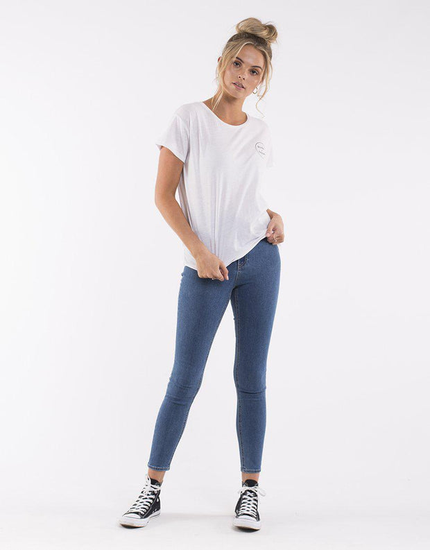 THE VICE HIGH SKINNY JEAN BLUE BELL