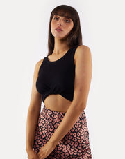 Harper Crop Top Black