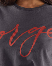 Jorge Sign Here Tee Red
