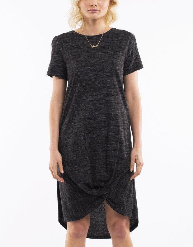 TWISTED TEE DRESS