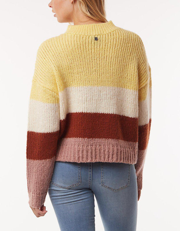 Florence Knit Crew Multicoloured