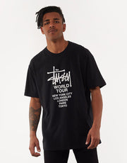 Solid Tour Ss Tee Black