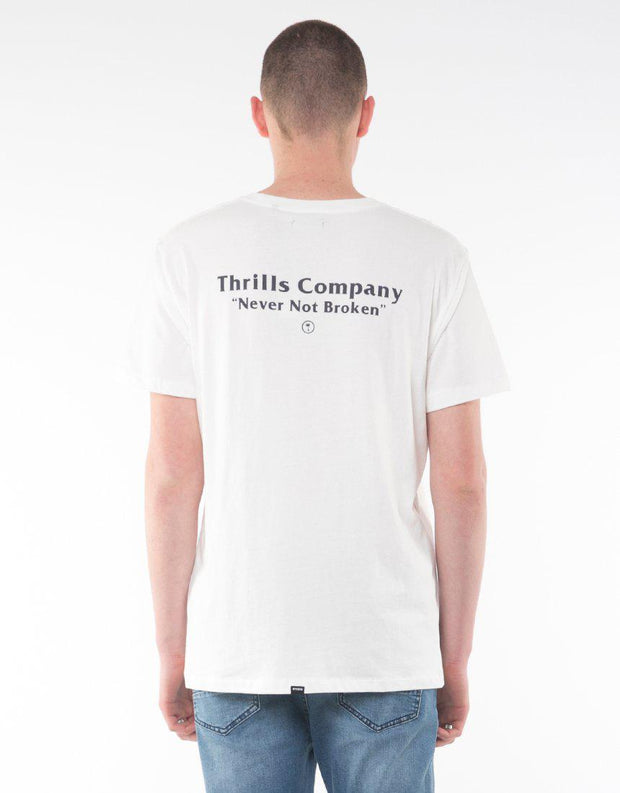 Strictly Thrills Tee White