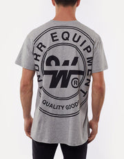 Clutch Custom Fit Tee Grey