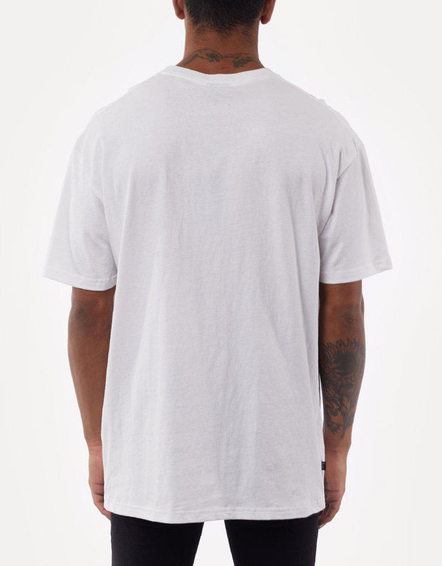 City Stack Ss Tee White