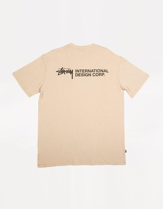 Stock Design Corp Ss Tee Atmosphere