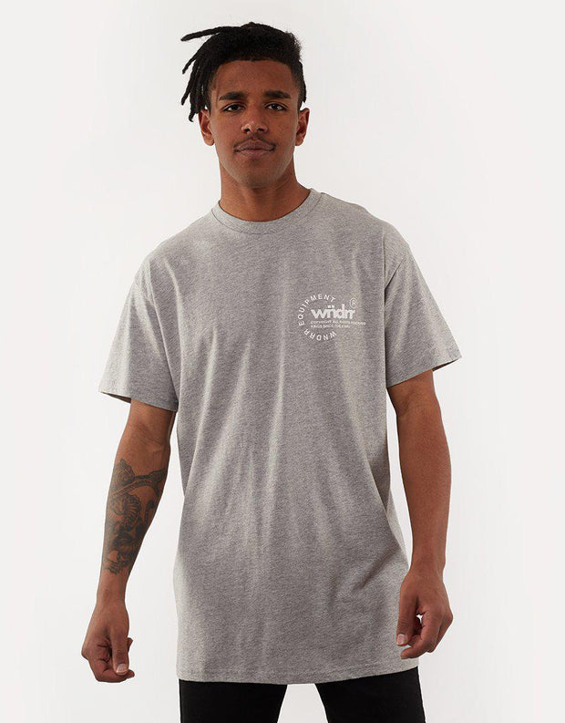 Stage Custom Fit Tee Grey Marle
