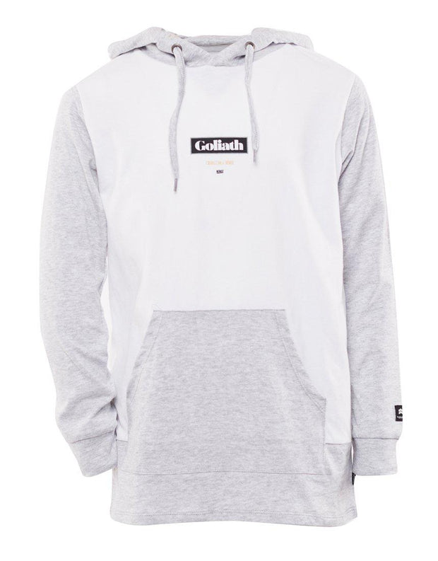 Flemington L/s Hooded Tee White