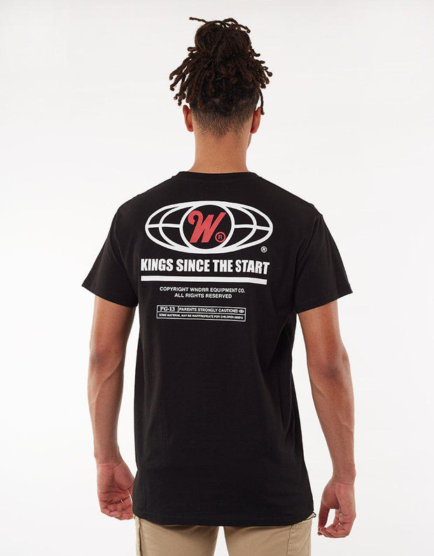 Motion Custom Fit Tee Black