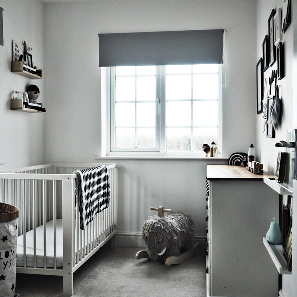 Monochrome toddler room inspiration