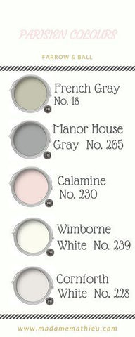 muted colour tones farrow and ball inspiration